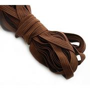 Резинка вздержка 10 мм коричневый 08