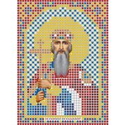 Рисунок на габардине А6 иконы БИС ММ 043 Владимир 7,5*10,5 см