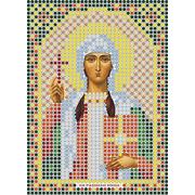 Рисунок на габардине А6 иконы БИС ММ 044 Нина 7,5*10,5 см