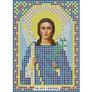 Рисунок на габардине А6 иконы БИС ММ 052 Архангел Гавриил 7,5*10,5 см