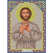 Рисунок на габардине А6 иконы БИС ММ 055 Алексей 7,5*10,5 см