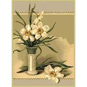 Схема для вышивания ДК-479 А3 «Нарциссы в белой вазе» 30*40 см