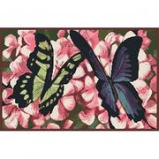 Схема для вышивания ДК-490 А3 «Две бабочки» 30*40 см