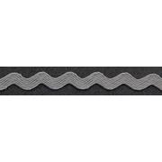 Тесьма вьюнчик 5 мм JZ-5 (уп. 30 м) №18 серый