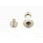 Винт для ремня 12 мм никель