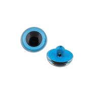 Глаза пришивные CRP-9 кристальные 9 мм голубой