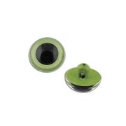 Глаза пришивные CRP-9 кристальные 9 мм зеленый