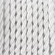 Шнур витой GC-043C (уп. 9,1 м) №001 белый
