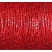 Шнур вощеный 1 мм Гамма JB-01 (уп. 100 м) №026 красный