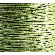 Шнур вощеный 1 мм Гамма JB-01 (уп. 100 м) №083 св.-зелёный