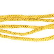 Шнур капрон плоский 1с19 (уп. 50 м) св.-желтый