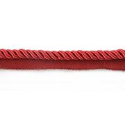 Шнур мебел. с ресницами 8 мм (уп. 25 м) бордо