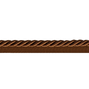 Шнур мебел. с ресницами 8 мм (уп. 25 м) коричн.