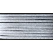Шнур резиновый 2.5 мм Тур.  бел. рул. 100 м