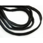 Шнур толстый В340 6 мм (уп. 100 м)  черный