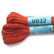 Мулине х/б 8 м Гамма, 0032 терракотовый