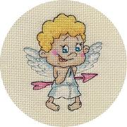 Набор для вышивания Кларт 8-165 «Ангелочек» 12,5*13,5 см