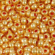 Бисер Preciosa Чехия (уп. 10 г) 18581 золотистый металлик