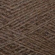 Пряжа Деревенька, 100 г / 170 м, 3657 коричневый