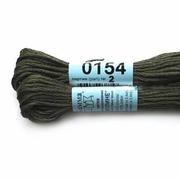 Мулине х/б 8 м Гамма, 0154 т.-серый