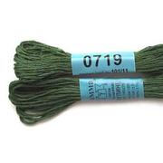 Мулине х/б 8 м Гамма, 0719 т.-зеленый