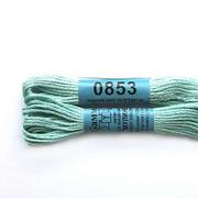 Мулине х/б 8 м Гамма, 0853 св.-голубой