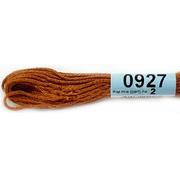 Мулине х/б 8 м Гамма, 0927 коричневый