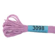 Мулине х/б 8 м Гамма, 3098 сиренево-розовый