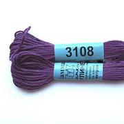 Мулине х/б 8 м Гамма, 3108 т.-сиреневый
