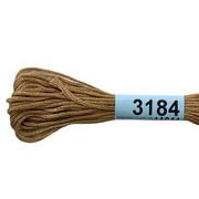 Мулине х/б 8 м Гамма, 3184 горчичный