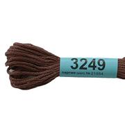 Мулине х/б 8 м Гамма, 3249 св.-коричневый
