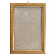 Рамка со стеклом 5012 10*15 см золото