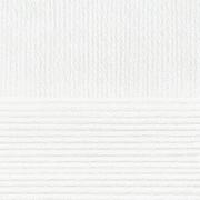 Пряжа Детский каприз, 50 г / 225 м, 001 белый