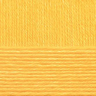 Пряжа Детский каприз, 50 г / 225 м, 012 желток