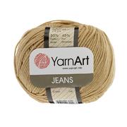 Пряжа Джинс (YarnArt Jeans), 50 г / 160 м, 48 темно-бежевый