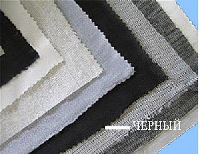 Дублерин SNT N-105/11 для верхн. одежды, 105 г/м, шир. 90 см, черный