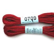 Мулине х/б 8 м Гамма, 0709 т.-красный