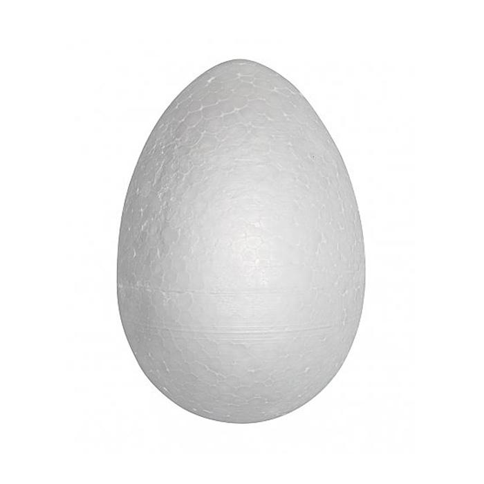 Заготовка для декора «Яйцо» пенопласт. h=12 см (уп. 5 шт.) 686466