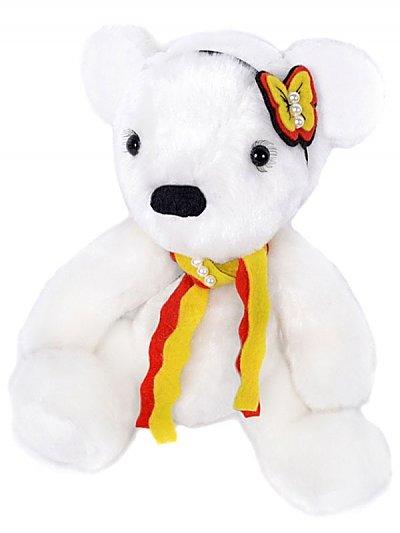 Набор мягкая игрушка ММ-008 «Белая медведица» 25 см