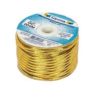 Шнур декор. GC-004M (уп. 18 м) золото