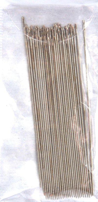 Иглы бисерные (набор 25 игл) 7706205
