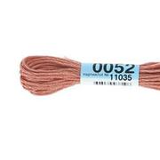 Мулине х/б 8 м Гамма, 0052 розово-серый