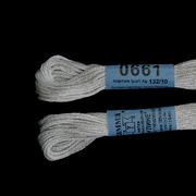 Мулине х/б 8 м Гамма, 0661 св.-серый