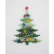 Набор для вышивания HP Kids П-0017 «Елка» 7,5*9,5 см