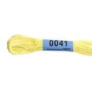 Мулине х/б 8 м Гамма, 0041 т.-лимонный