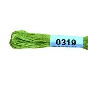 Мулине х/б 8 м Гамма, 0319 ярко-зеленый