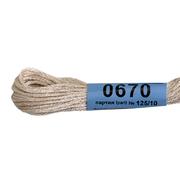 Мулине х/б 8 м Гамма, 0670 св. розово-серый