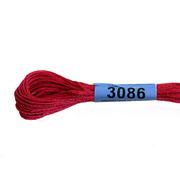 Мулине х/б 8 м Гамма, 3086 грязно-малиновый