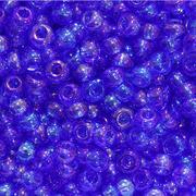 Бисер Preciosa Чехия (уп. 5 г) 31050 св.-синий прозрачный радужный
