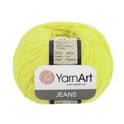 Пряжа Джинс (YarnArt Jeans), 50 г / 160 м, 67 св.-желтый